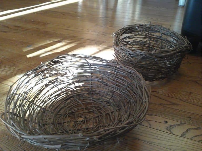 Basket Weaving Grapevines : When life gives you grapevines start making baskets