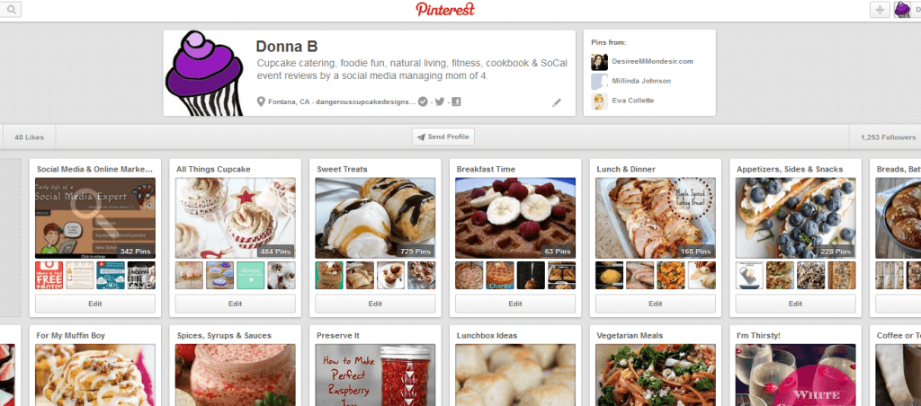 pinterest profile cover