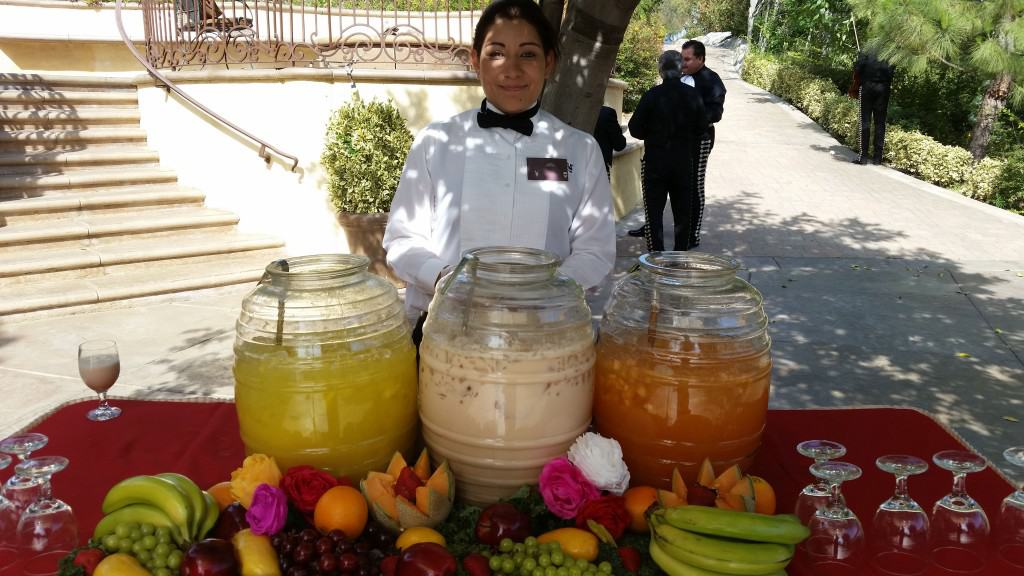 pina horchata melon drinks