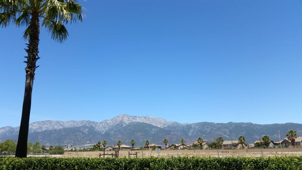 mountains in southern california