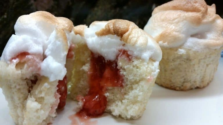 Dangerous Strawberry Shortcake Cupcakes