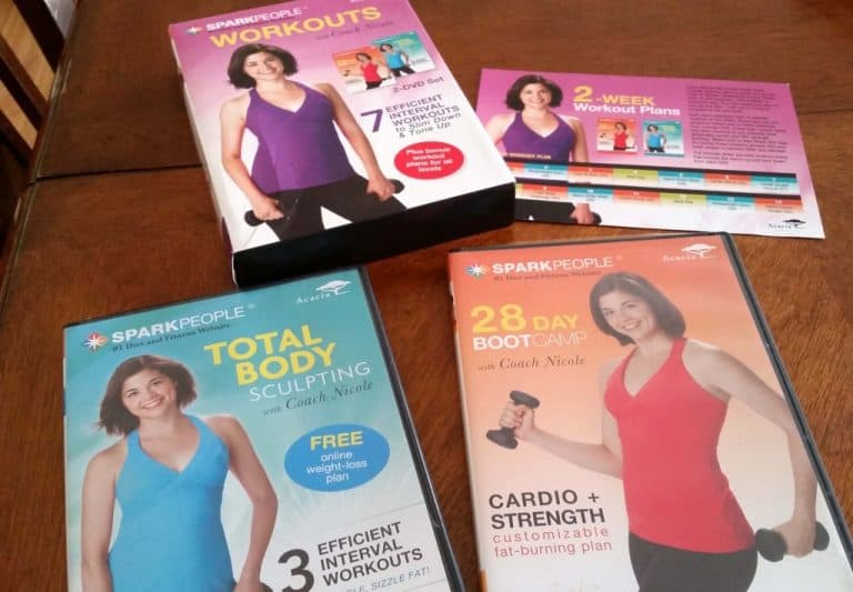 SparkPeople Workouts on DVD