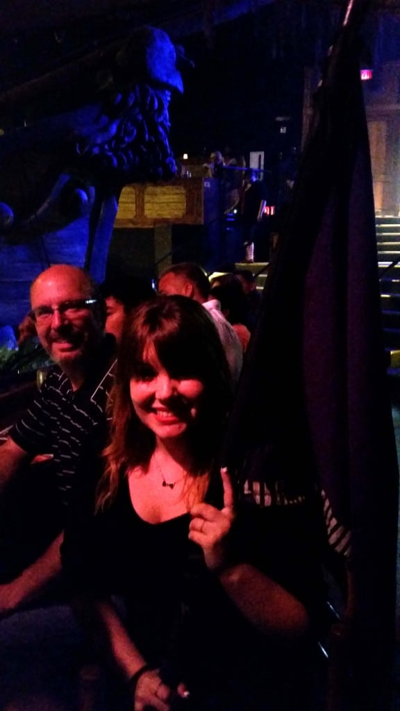 Our Evening at Pirates Dinner Adventure!