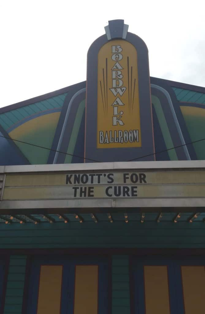 knott's for the cure