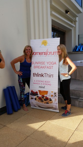 Sunrise Yoga with thinkThin and WomensForum.com