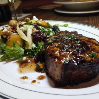 Mimi's Cafe Entree Contest Winner: The Honey Lavender Pork Chop