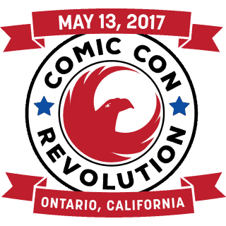 Comic Con Revolution Giveaway! Coming to Ontario, California on May 13