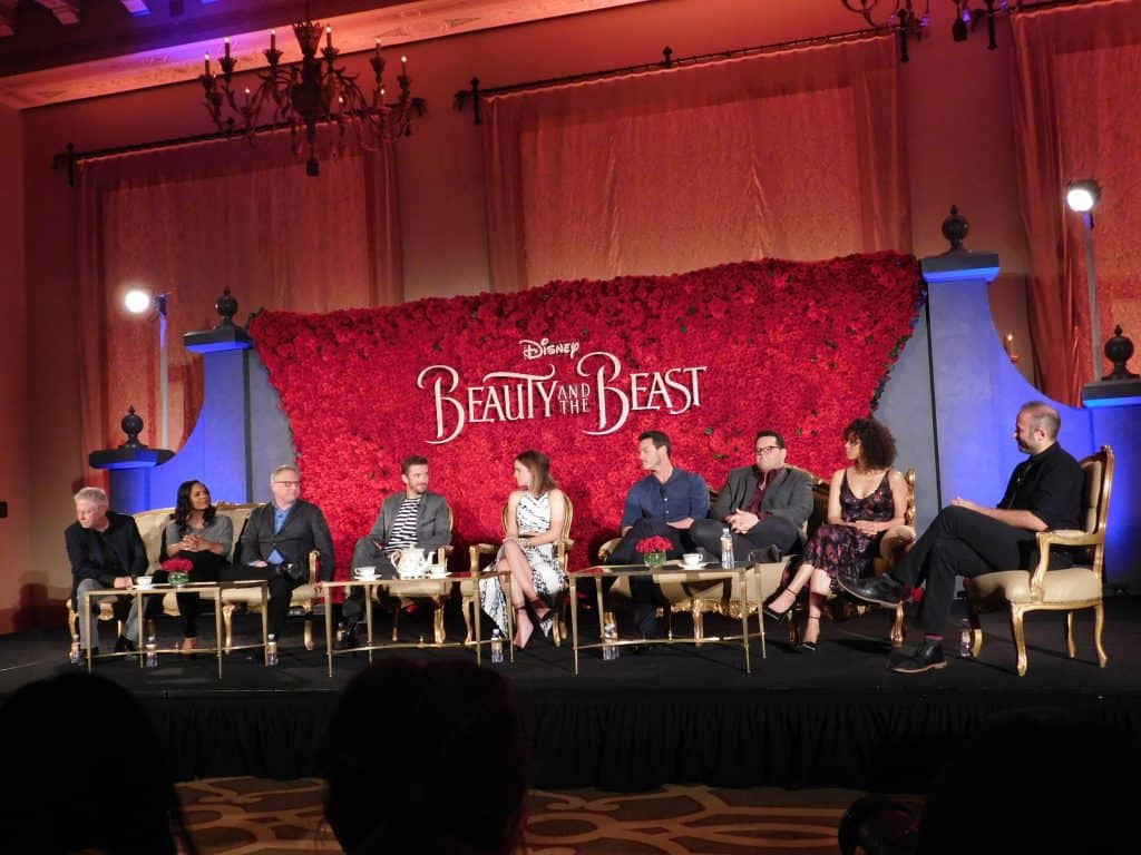 Beauty and the Beast cast interview