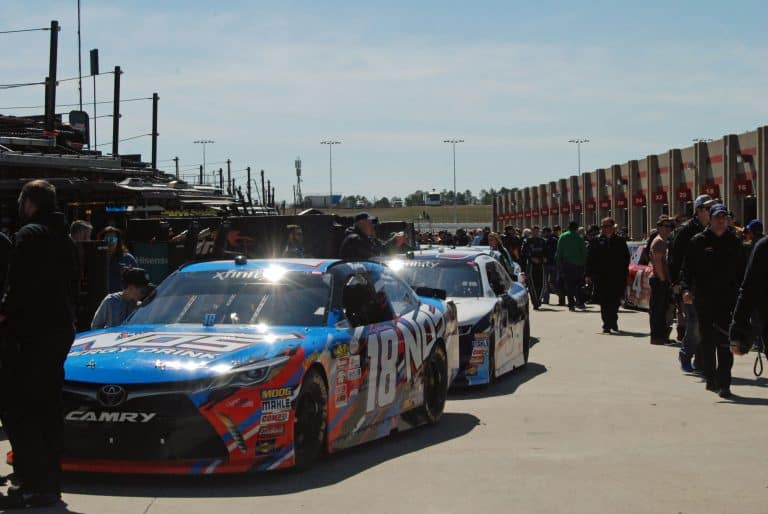 Our whirlwind weekend for the atlanta motor speedway for Atlanta motor speedway ride along