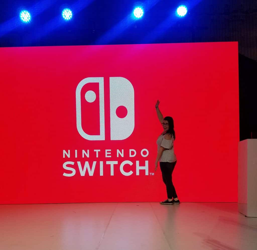 new Nintendo Switch
