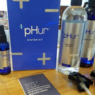 Want to Live Naturally and Still Stay Clean? pHur Water Makes It Easy