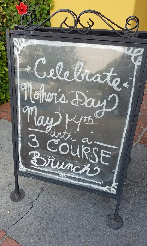 Mimi's Cafe Mother's Day Brunch Menu