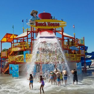 Celebrating the Knott's Soak City Grand Re-Opening in Buena Park