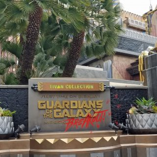 New Guardians of the Galaxy – Mission: Breakout Ride Experience at Disney's California Adventure