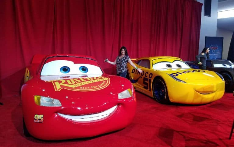 Behind the Scenes with the Cars 3 Cast Meeting Lightning McQueen
