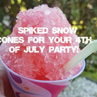 Spiked Snow Cone Recipe Just in Time for the Fourth of July