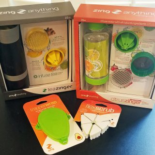 Making Infused Water and Flavorful Tea with Zing Anything