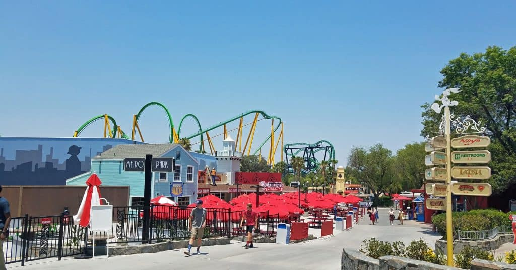 new six flags magic mountain ride