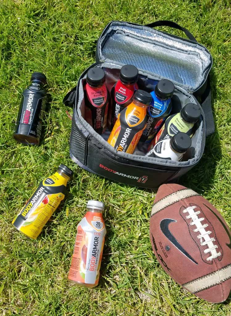 keeping kids hydrated with BodyArmor