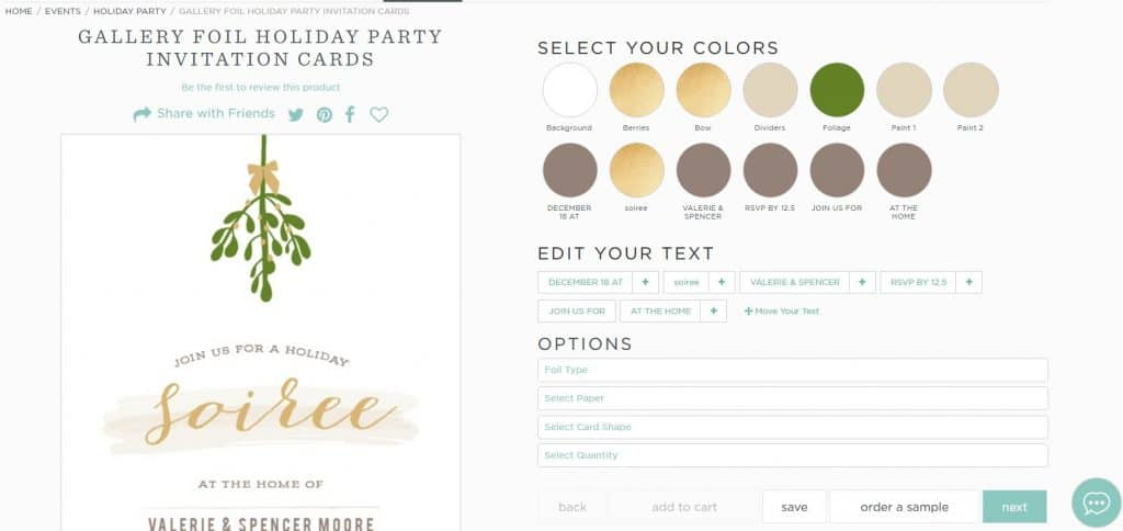 holiday party planning
