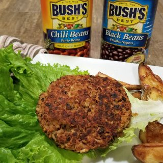 Delicious Fall Burger Alternative with the Help of Bush's Beans