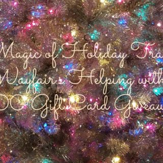 The Magic of Holiday Traditions (And I'm Giving Away a $100 Wayfair Gift Card!)