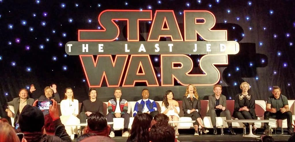 the last jedi press junket