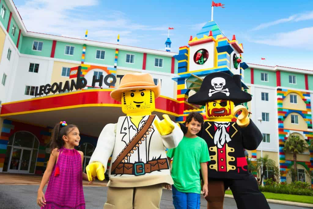 Kids go free at LEGOLAND