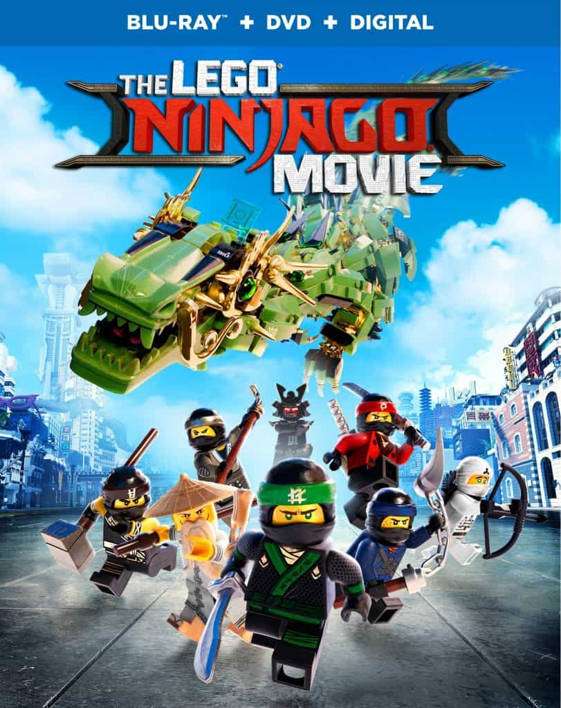 Lego Ninjago Movie on Blu-Ray