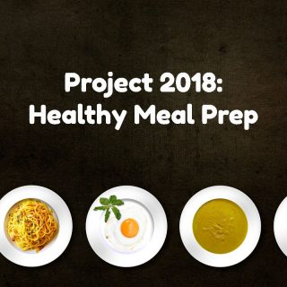 Project 2018 Prep: Getting the Kitchen Ready for Healthy Meal Prep