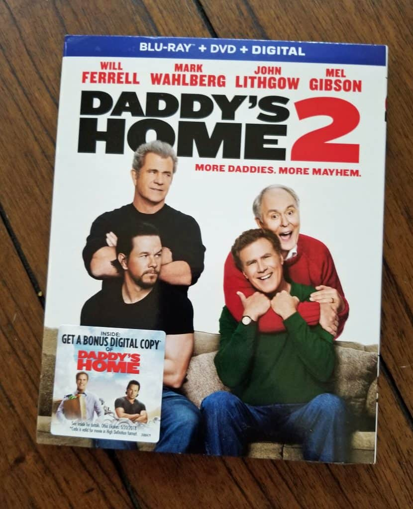 daddy's home 2 movie night