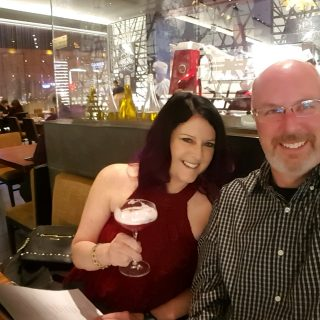 Visiting Las Vegas, Highlighted by Dinner at Morimoto's in the MGM Grand