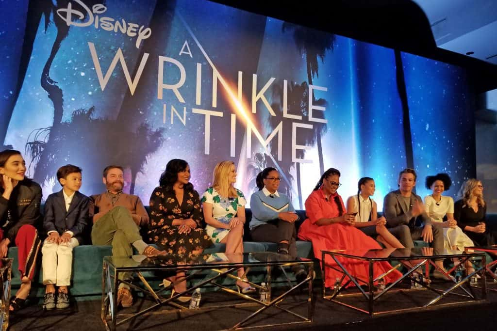 wrinkle in time cast interview