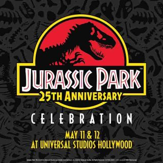 Welcome to Jurassic Park! The 25th Anniversary Celebration Happens at Universal Studios May 11 & 12