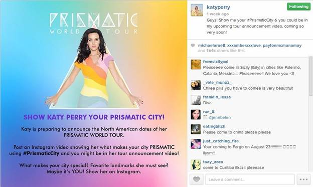 Katy Perry and the Prismatic Tour: Concert Time!
