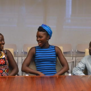 Interviews with the Cast of Queen of Katwe, Disney's Newest Movie