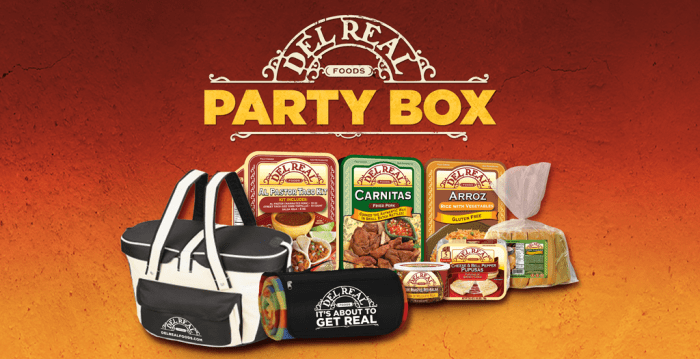 Del Real's Al Pastor Taco Kit and Party Box Giveaway