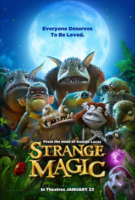 "Our Visit With ""Dawn"" and ""Sunny"" of Lucasfilm's Strange Magic"