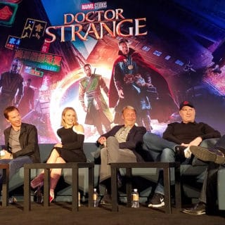 Interviewing the Cast of Doctor Strange, Marvel's Next Movie