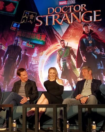 cast of doctor strange