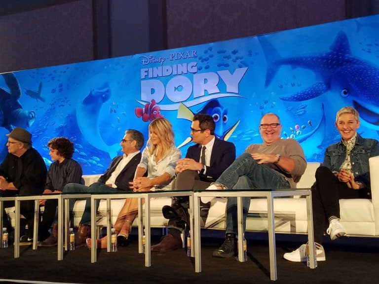 Have You Seen Her? Interviewing the Cast of Finding Dory