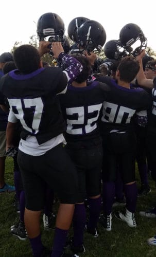 being a football mom