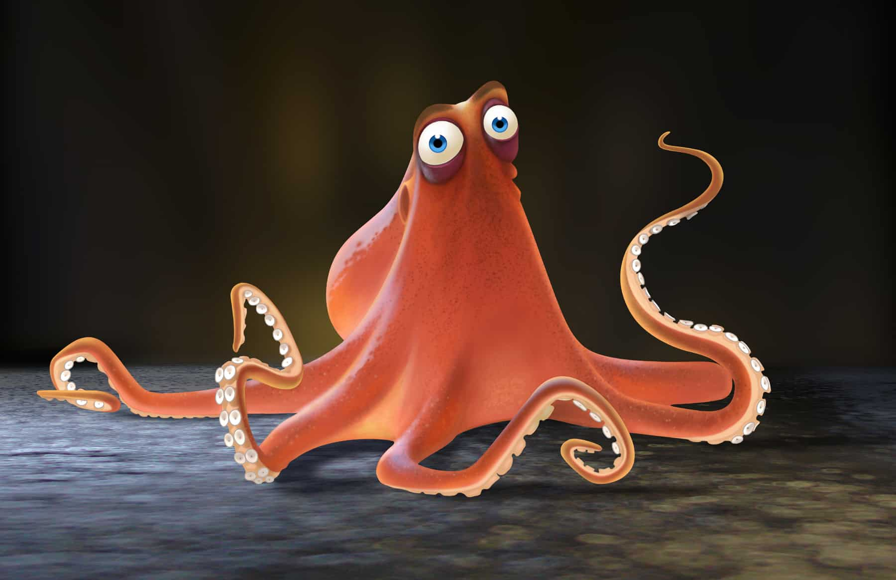 Hank the Cantankerous Octopus: Finding Dory