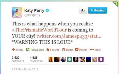 katy perry twitter