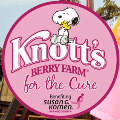 Knott's for the Cure: Support the Susan G. Komen Breast Cancer Fund