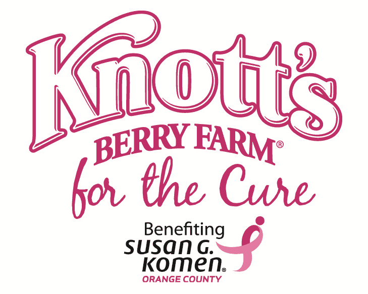 Knott's Berry Farm Goes Pink for the Cure! #KnottsPink
