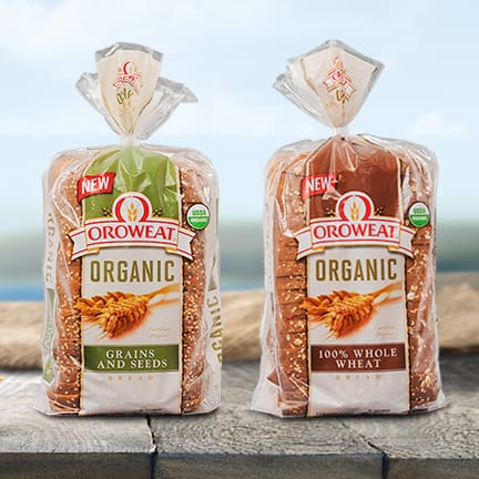 My Oroweat Organic Bread Sandwich Creation and a Giveaway!