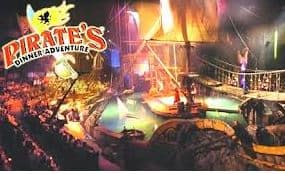 Come Live the Pirate's Life at Pirate's Dinner Adventure California