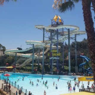 Visiting Raging Waters on a Hot Summer Day