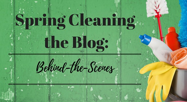 Spring Cleaning the Blog: Page Load Times and Organizing